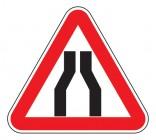Дорожный знак 1.20.1 Сужение дороги
