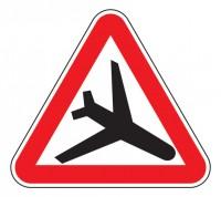 Дорожный знак 1.30 Низколетящие самолеты