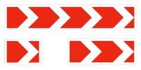 Дорожный знак 1.34.1 Направление поворота