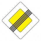 Дорожный знак 2.2 Конец главной дороги