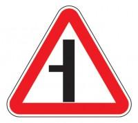 Дорожный знак 2.3.3 Примыкание второстепенной дороги