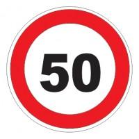 Дорожный знак 3.24 Ограничение максимальной скорости