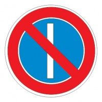 Дорожный знак 3.29 Стоянка запрещена по нечетным числам месяца
