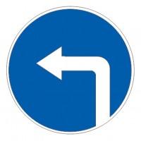 Дорожный знак 4.1.3 Движение налево
