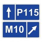 Дорожный знак 6.14.2 Номер маршрута