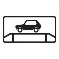 Дорожный знак 8.10 Место для осмотра автомобилей
