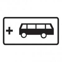 Дорожный знак 8.21.2 Вид маршрутного транспортного средства