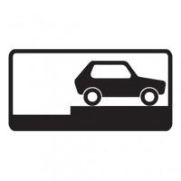Дорожный знак 8.6.9 Способ постановки транспортного средства на стоянку