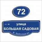 Адресные знаки и таблички