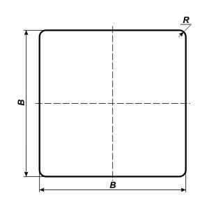 схема квадратного дорожного знака
