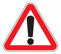 Дорожный знак 1.33 Прочие опасности