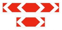 Дорожный знак 1.34.3 Направление поворота