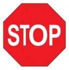 Дорожный знак 2.5 Движение без остановки запрещено