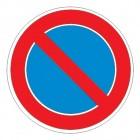 Дорожный знак 3.28 Стоянка запрещена