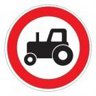 Дорожный знак 3.6 Движение тракторов запрещено