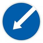 Дорожный знак 4.2.2 Объезд препятствия слева