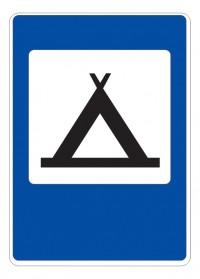 Дорожный знак 7.10 Кемпинг