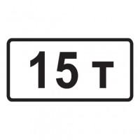 Дорожный знак 8.11 Ограничение разрешенной максимальной массы