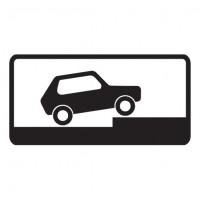 Дорожный знак 8.6.7 Способ постановки транспортного средства на стоянку
