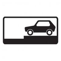 Дорожный знак 8.6.8 Способ постановки транспортного средства на стоянку
