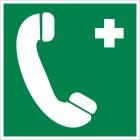 Знак «Телефон связи с медицинским пунктом (скорой мед. помощью)»