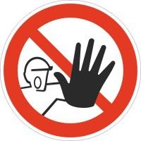 Знак безопасности Доступ посторонним запрещен