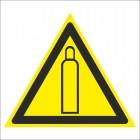 Знак безопасности «Газовый баллон»