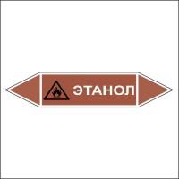 Знак безопасности «Этанол - двусторонние направление»