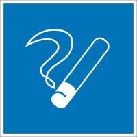 Знак безопасности «Место курения»