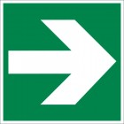 Знак безопасности «Направляющая стрелка»