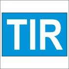 Обозначение - Международные дорожные перевозки (TIR)