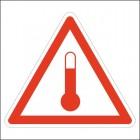 Обозначение - Повышенная температура