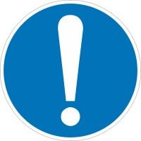 Знак безопасности «Общий предписывающий знак (прочие предписания)»