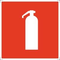 Знак пожарной безопасности Огнетушитель