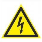 Знак безопасности «Опасность поражения электрическим током»