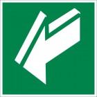 Знак безопасности «Открывать движением на себя»