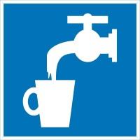 Знак безопасности «Питьевая вода»