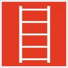 Знак пожарной безопасности Пожарная лестница