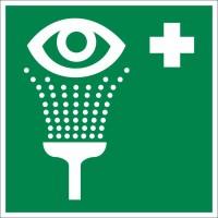 Знак «Пункт обработки глаз»