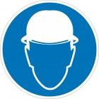 Знак безопасности «Работать в защитной каске (шлеме)»