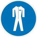 Знак безопасности «Работать в защитной одежде»