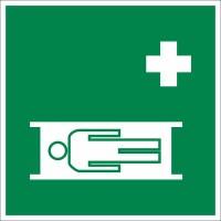 Знак «Средства выноса (эвакуации) пораженных»