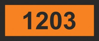Табличка - номер ООН (OON1203)