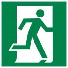 Знак безопасности «Выход здесь (правосторонний)»